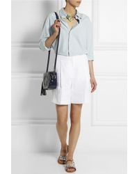 J.Crew - White Collection Linen Bermuda Shorts - Lyst