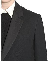 Cerruti 1881 - Black Super Light Wool Coat for Men - Lyst