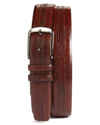 Mezlan | Brown Iguana Belt for Men | Lyst