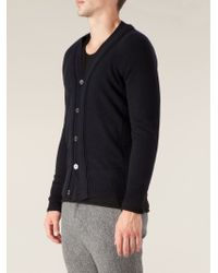 Side Slope - Blue Classic Cardigan for Men - Lyst