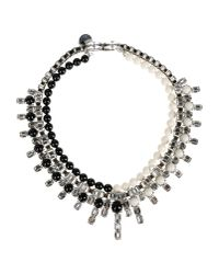 Ellen Conde - Metallic Necklace - Lyst