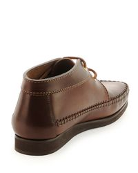 Tom Ford - Brown Ralph Wallaby Leather Lace-Up for Men - Lyst