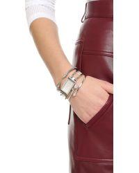 Vita Fede - Metallic Mini Titan Side Chain Bracelet - Lyst