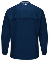 Majestic - Blue Men's Detroit Tigers Training Jacket for Men - Lyst