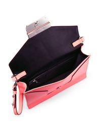 MILLY | Red Colby Crossbody Bag | Lyst