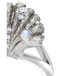 Venyx | Metallic 18k White Gold Venus Ring | Lyst