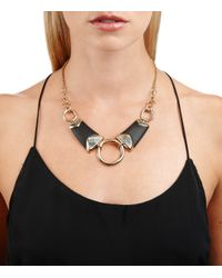 Alexis Bittar - Black Three Ringed Bib Necklace You Might Also Like - Lyst