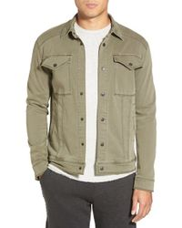 Michael Stars | Green Shirt Jacket for Men | Lyst