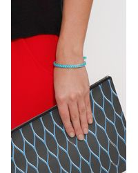 Aurelie Bidermann | Blue Bangle W Cotton Braid | Lyst
