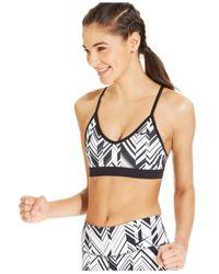 Nike - Black Pro Indy Freeze Frame Dri-fit Sports Bra - Lyst