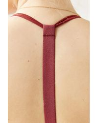 Without Walls - Red T-back Bra - Lyst