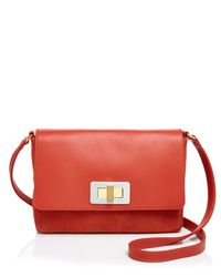 Olivia Clergue | Orange Gisele Shoulder Bag | Lyst