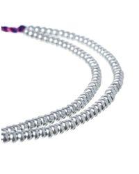 Jack Wills | Blue Ball Chain Bracelet | Lyst