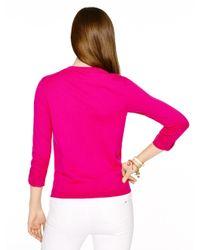 Kate Spade | Pink Somerset Cardigan | Lyst