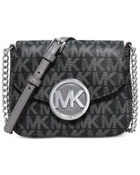 Michael Kors | Gray Michael Fulton Small Crossbody | Lyst