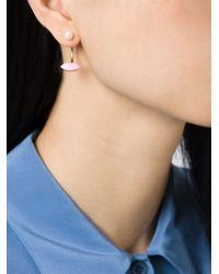 Delfina Delettrez   Pink 'lips Piercing' Earring   Lyst