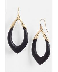 Alexis Bittar | Black 'lucite - Neo Bohemian' Open Drop Earrings | Lyst