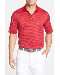 Bobby Jones - Red 'Flight Stripe' Regular Fit Golf Polo for Men - Lyst