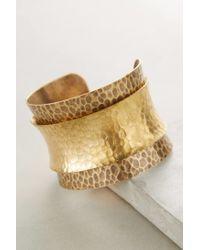 Anthropologie | Metallic Gauntlet Cuff | Lyst