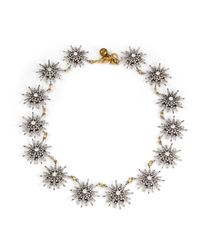 Lulu Frost - White Radiant Necklace - Lyst
