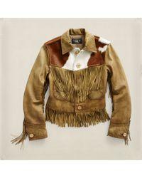 RRL - Brown Rodeo Jacket for Men - Lyst