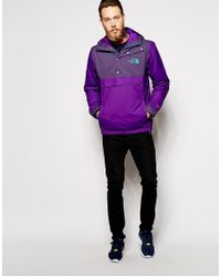 The North Face - Purple Rage Mountain Anorak for Men - Lyst