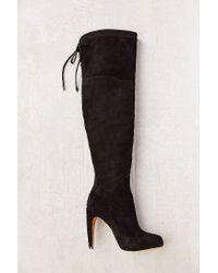 9f71e3e428dd Lyst - Sam Edelman Kayla Suede Tall Boot in Black