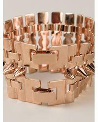 Eddie Borgo - Metallic Legged Cone Bracelet - Lyst