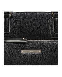 Nine West Black Zip N Go Tote Handbag