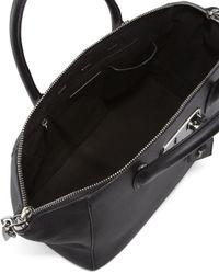 VBH - Black Brera Leather Satchel - Lyst