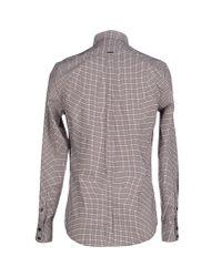 Antony Morato - Brown Shirt for Men - Lyst