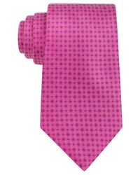 Ike Behar | Pink Pret Neat Tie for Men | Lyst