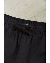 Obey - Black Slub Twill Elastic Waist Pant for Men - Lyst