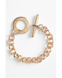 Marc By Marc Jacobs | Pink 'toggles & Turnlocks' Link Bracelet | Lyst