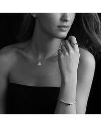 David Yurman - Metallic Cerise Petite Earrings With Diamonds - Lyst