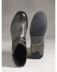 John Varvatos Gray Simmons Twisted Zip Boot for men