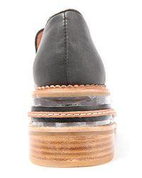 Jeffrey Campbell Black The Izzard Cap Shoe