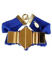 Marion Vidal | Blue Ribbon Bracelet | Lyst