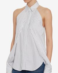 Dion Lee - Blue Releasse Sleeve Shirt - Lyst