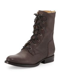 Frye - Brown Jamie Leather Lace-up Boot for Men - Lyst