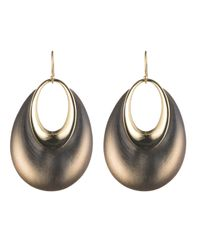 Alexis Bittar Gray Orbital Dangling Hoop Wire Earring You Might Also Like