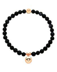 Melissa Odabash | Blue Rose Gold & Pearl Gemini Bracelet | Lyst