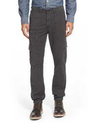 AG Jeans Gray 'vanguard' Modern Cargo Pants for men