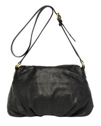 Marc By Marc Jacobs Black Classic Q Natasha Embossed Leather Bag