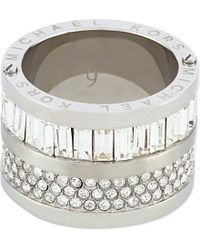 Michael Kors | Metallic Fulton Ring - For Women | Lyst