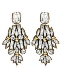 Suzanna Dai | Black Petra Large Drop Earrings | Lyst