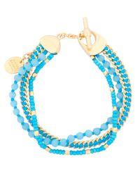 Henri Bendel - Blue St Tropez Delicate Bracelet - Lyst