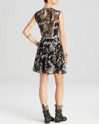 Free People Black Dress - Laurel Lace