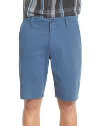 Rip Curl Blue 'epic Stretch' Chino Shorts for men