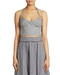 Guess | White Halter Top | Lyst